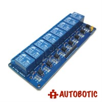 8 Channel Relay Module With Opto-Isolator (24V)