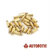 M3 Brass PCB Stand Hex Male-Female Spacer (L=15mm) 1 piece