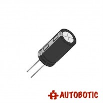 Electrolytic Capacitor 25V (100uF)