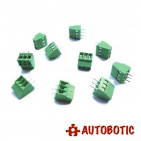 3 Pin Screw Terminal Block Connector 5mm Pitch For Arduino