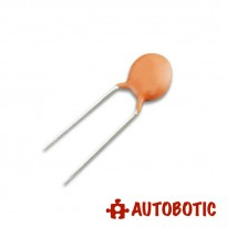 Ceramic Disc Capacitor 50V (0.1uF)