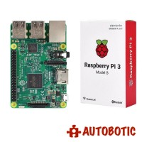 Raspberry Pi 3 + Kingston 16GB (With NOOBs) + Power Adapter + Casing with Fan (Free Heatsinks+HDMI Cable)