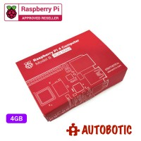 Raspberry Pi 4 Bundle (4GBRAM/16GB NOOBS/Red)