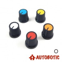 Potentiometer Rotary Control KnobCap AG3 (White)