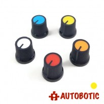 Potentiometer Rotary Control Knob Cap AG3 (Yellow)