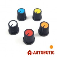 Potentiometer Rotary Control Knob Cap AG3 (Orange)