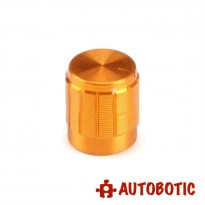 Aluminium Alloy Knob Fit For 6mm Potentiometer Shaft (Gold)