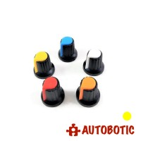 Potentiometer Rotary Control Knob Cap AG2 (Yellow)