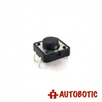 4-Pin Tactile Push Button Tact Switch (12x12x6mm)