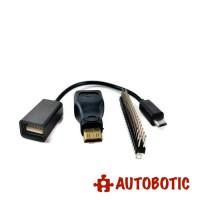 Raspberry Pi Zero Accessories (OTG Cable + Mini HDMI Converter + 2*20 Header)