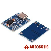 1A 18650 Battery Charging Module  (Micro USB)