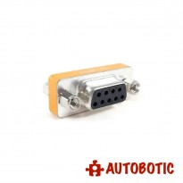 DB9 Female to Female Gender Changer Converter Adapter