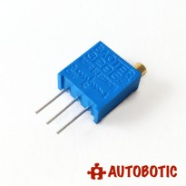 Multiturn Preset / Potentiometer 3296W (500K ohm)