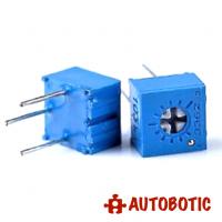 Single Turn Trimmer / Potentiometer / Variable Resistor 3362P (500K ohm)