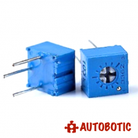 Single Turn Trimmer / Potentiometer / Variable Resistor 3362P (100K ohm)