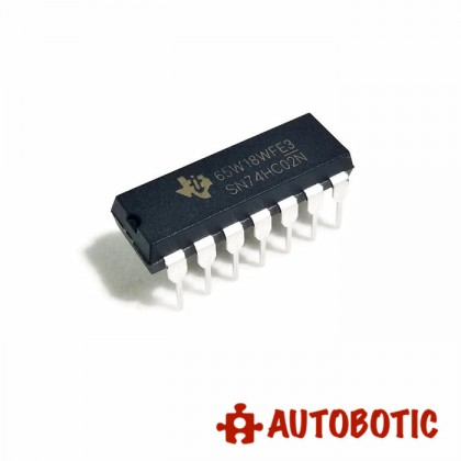 DIP-14 Integrated Circuit IC (SN74HC02N) Quad 2-Input NOR Gate