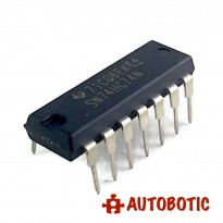 DIP-14 Integrated Circuit IC (SN74HC74N) Dual D Flip-Flop-Set-Reset