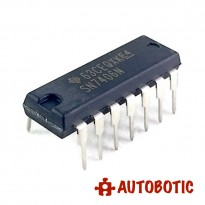DIP-14 Integrated Circuit IC (SN7406N) Hex Inverter Buffer/Driver