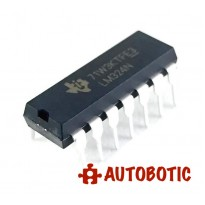 DIP-14 Integrated Circuit IC (LM324N) Low Power Quad Op-Amp