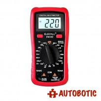 Digital AC/DC/Current/Voltage Tester LCD Multimeter (EM33D)