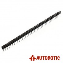 40-Pin Single Row Round Female Header Pin