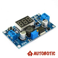 LM2596 DC-DC Adjustable Step Down Voltage Regulator Power Supply Module With Display
