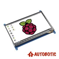 Raspberry Pi 7 inch Touchscreen LCD (With HDMI+USB cable)