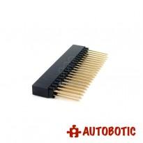 Dual Row 20 Pin Stackable Header