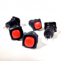 5pcs of DS-425 Push Button Horn Switch without Locking 12mm