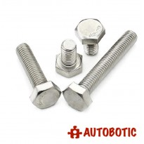 M8x12mm Stainless Steel Hex Bolt