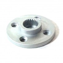 Aluminium 25T Round Servo Holder for MG995, Futaba, ACE Robot