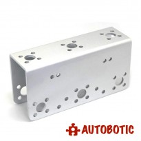 Silver Aluminum Mult Purpose U-shape Beam Bracket for Arduino Robot Arm/Servo (FK-MU-001)