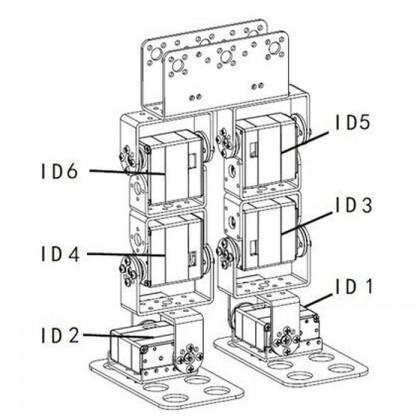 Silver Aluminum Mult Purpose U-shape Beam Bracket for Arduino Robot Arm/Servo (FK-MU-001) [PROMO PRICE]