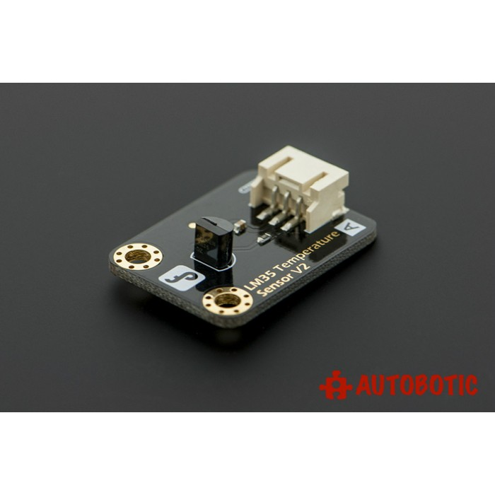 Gravity analog lm temperature sensor for arduino