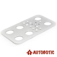 Aluminum Foot Plate (FK-FP-001) for DIY Robot