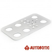 Aluminum Foot Plate (FK-FP-001) for DIY Robot