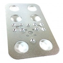 Aluminium Feet Bracket for DIY Robot