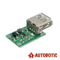 USB DC-DC Converter Step Up Boost Module (0.9V-5V to 5V 600mA)