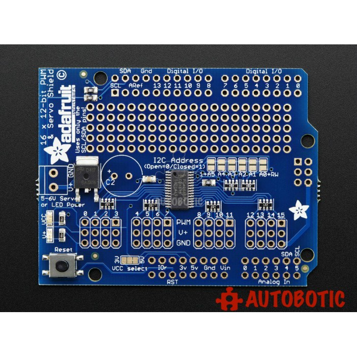 how to use 16 x 12-bit pwm