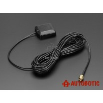 GPS Antenna - External Active Antenna - 3-5V 28dB 5 Meter SMA
