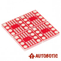 SparkFun SOIC to DIP Adapter - 8-Pin (4 Piece)