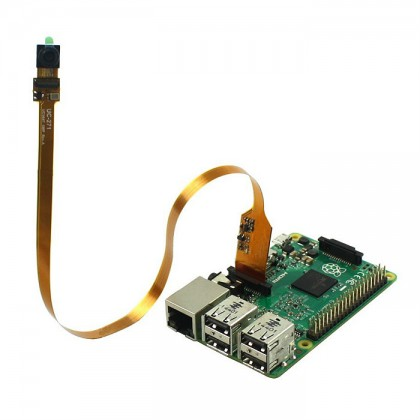 1/4 inch 5 Megapixels Sensor Spy Camera Module with Flex Cable for Raspberry Pi [PROMO PRICE]