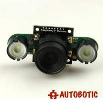 5mp 1080p OV5647 NoIR Camera Module with M12*0.5 Mount Lens for Raspberry Pi