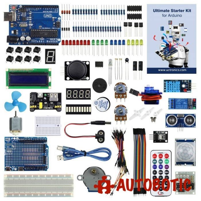 Uctronics advanced starter kit for arduino