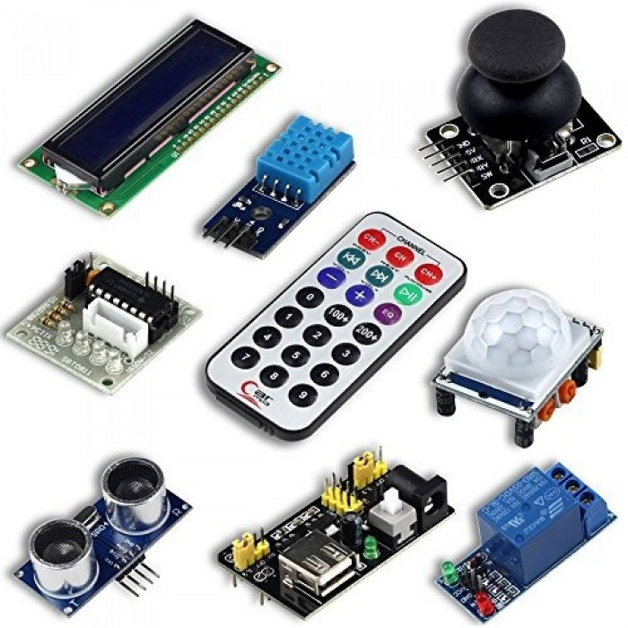 Uctronics ultimate starter kit for arduino