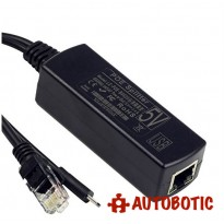 Micro USB Active PoE Splitter Power Over Ethernet for Raspberry Pi