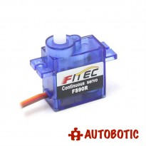 Micro 360 Degree Continuous Rotation Servo (FS90R)