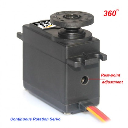 10kg.cm 360 Degree Continuous Rotation Servo (FS5109R) [PROMO PRICE]
