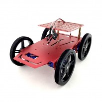 4WD Mini Robot Mobile Platform Kit B