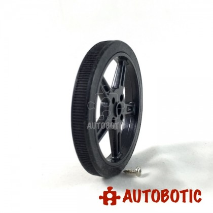60*8 Wheel For Micro Continues Rotation Servo/1PCS